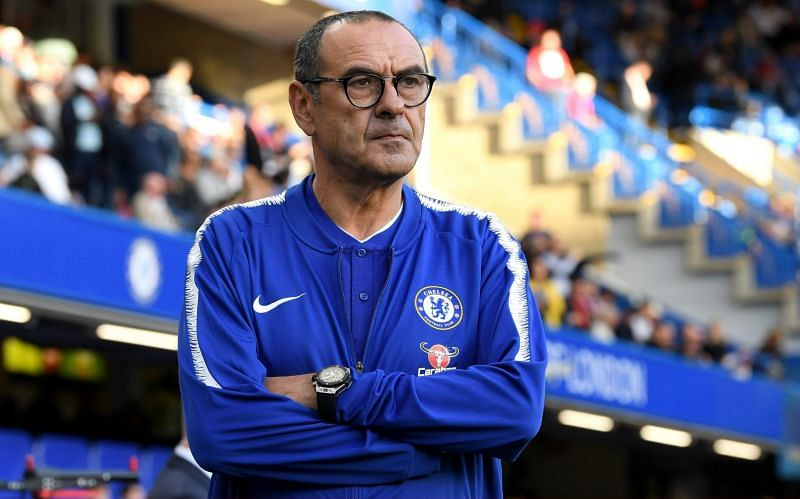 Maurizio Sarri guided Chelsea to the Europa League during his stint with the club.