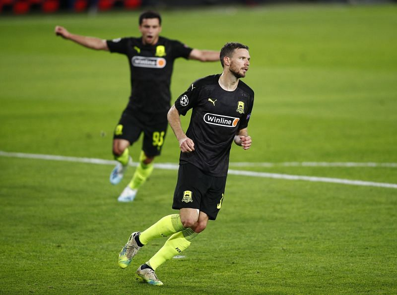 Marcus Berg will lead the line for Krasnodar against Dinamo Zagreb