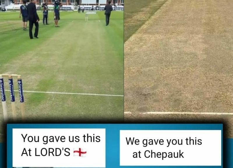 The Chennai pitch has split opinion