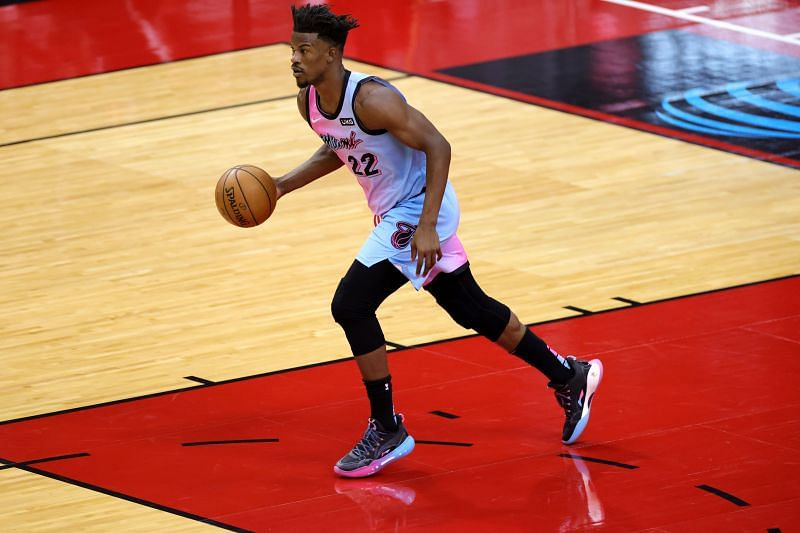 Jimmy Butler #22 of the Miami Heat.