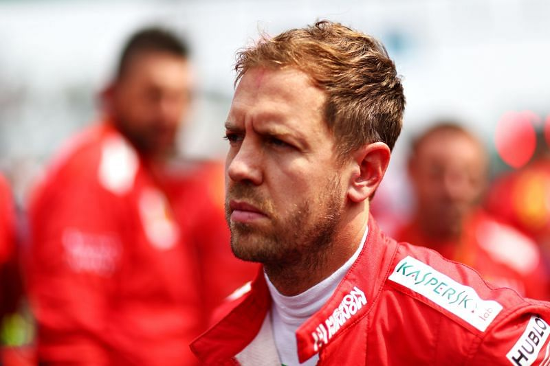 Four-time F1 champion Sebastian Vettel. (Photo by Dan Istitene/Getty Images)