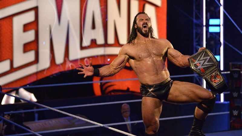 Drew McIntyre is on a strong run as the WWE Champion