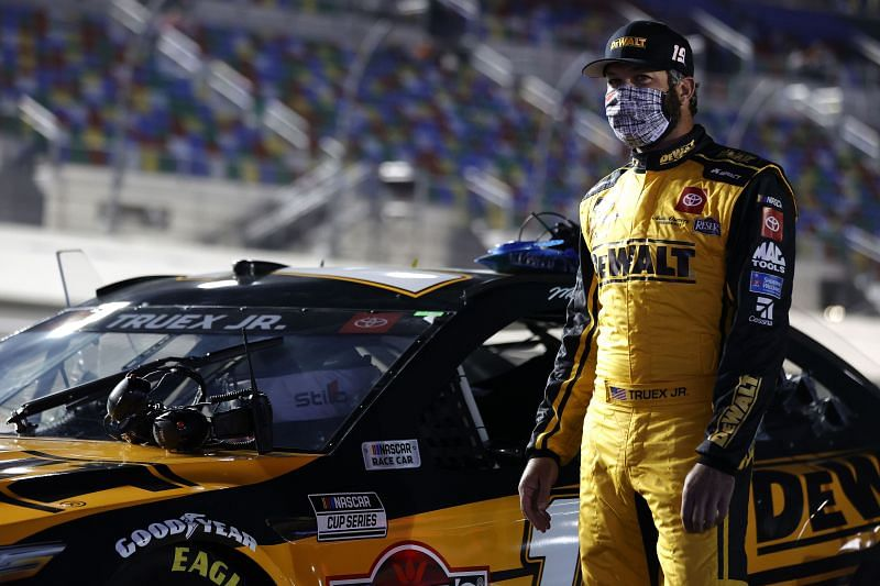 Martin Truex Jr. had a rough outing at the 2021 Busch Clash.