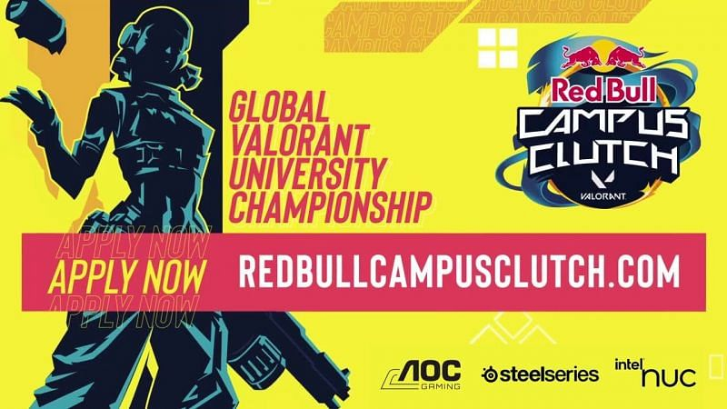 The RedBull Campus Clutch Valorant tournament exclusive to students worldwide (Image via RedBull)