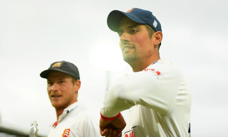 Alastair Cook is England