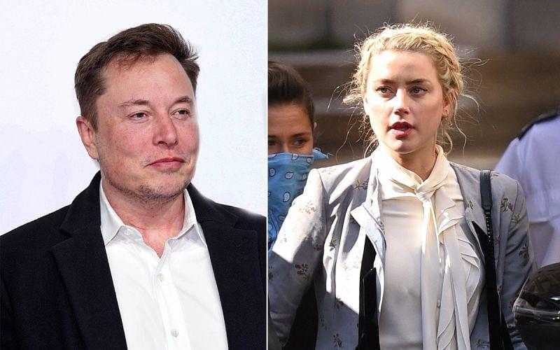 Image via Amber Heard & Elon Musk