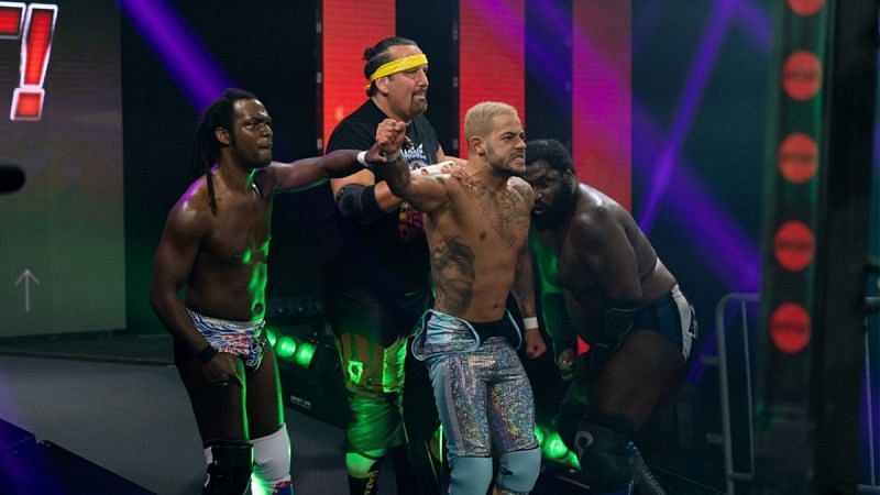 Tommy Dreamer and Rich Swann in IMPACT Wrestling
