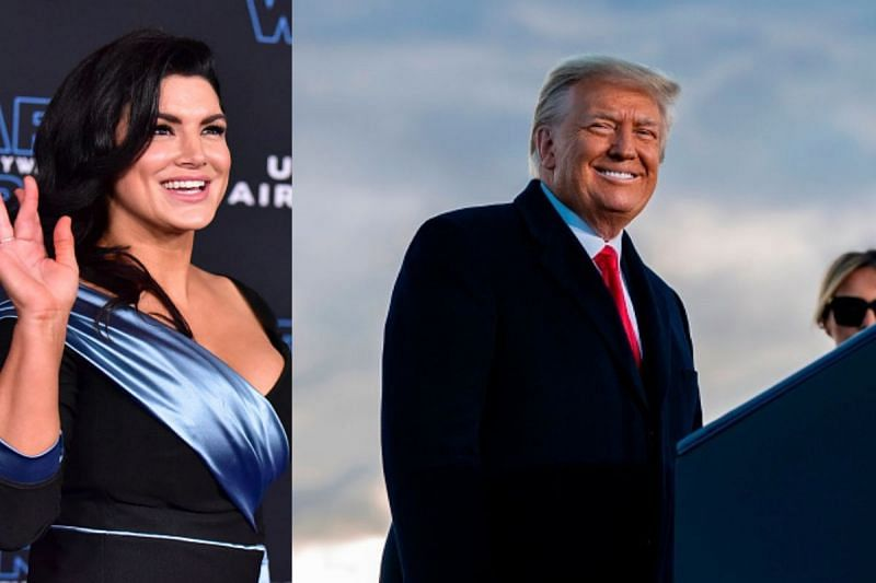 Former MMA fighter Gina Carano supports the Republican party