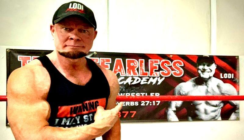 Lodi now runs a gym and wrestling school in Charlotte, NC, called