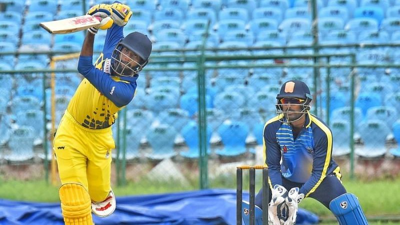 C Hari Nishaanth has been knocking down the IPL door for a couple of years now