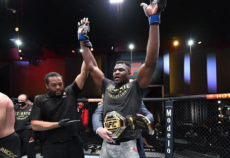 Can anybody stop new UFC heavyweight champ Francis Ngannou?