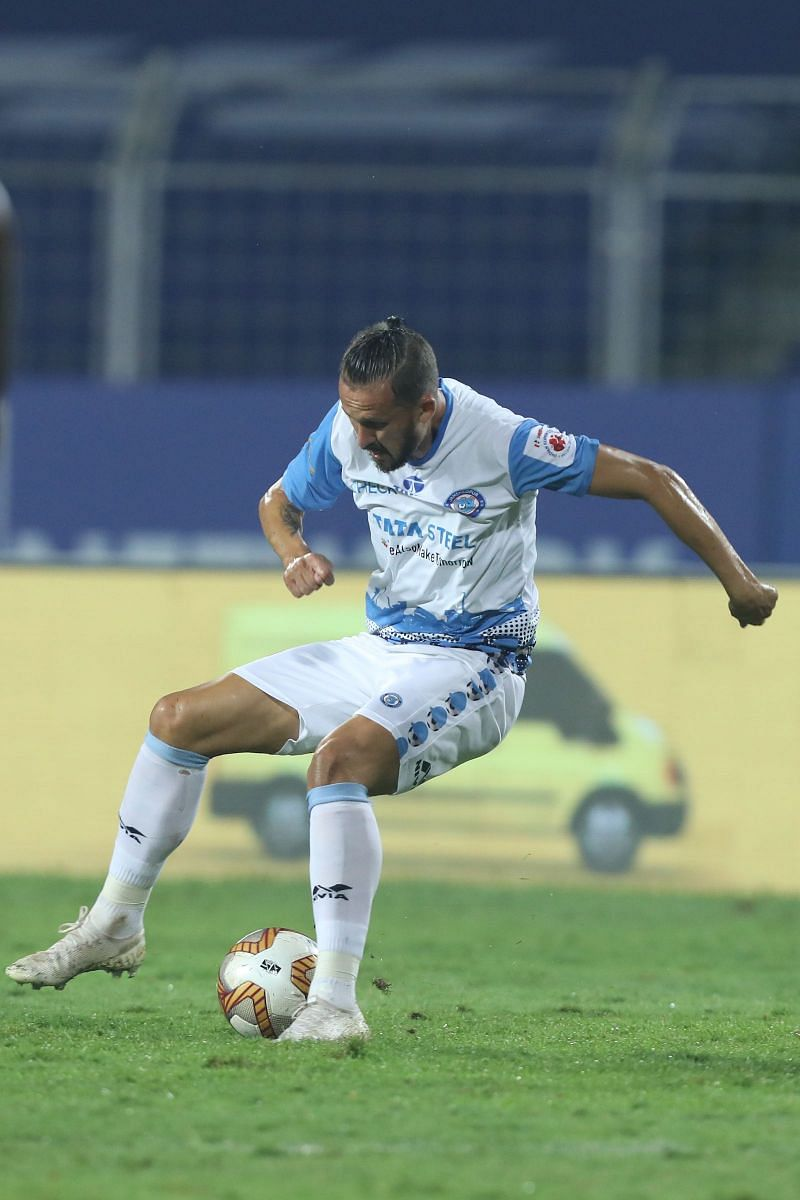 Nerijus Valskis represented Jamshedpur FC in ISL this season (Image Courtesy: ISL Media)