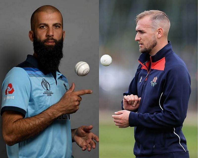 Moeen Ali(L) and Liam Livingstone are expected to get a chance to play in the ODI series against India