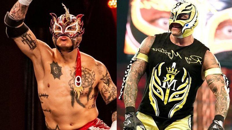 Rey Fenix and Rey Mysterio have similar wrestling styles