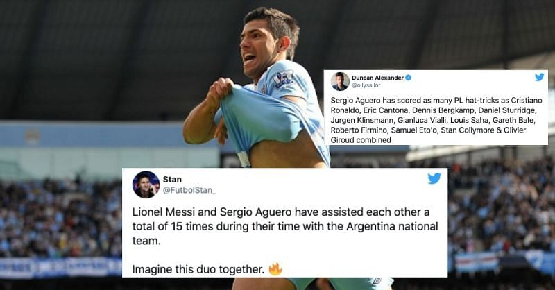 Sergio Aguero is arguably Manchester City