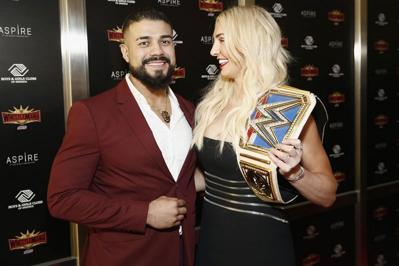 Andrade reveals which wrestler was responsible for getting him and Charlotte Flair together.