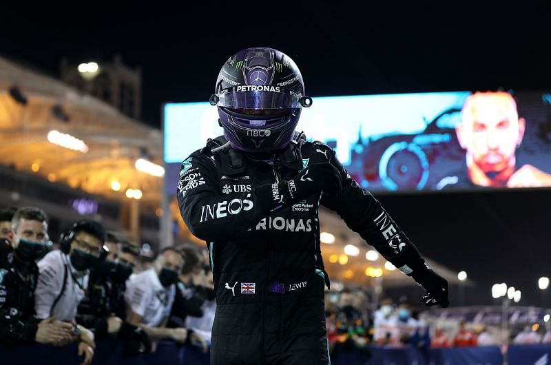 Lewis Hamilton won the first race of 2021. Photo: Lars Baron/Getty Images.