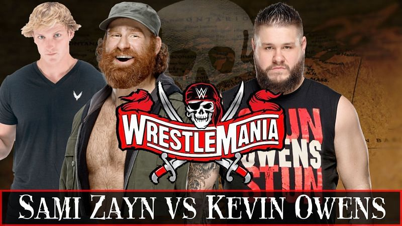 Sami Zayn has announced that Logan Paul will be appearing on Friday Night SmackDown next week