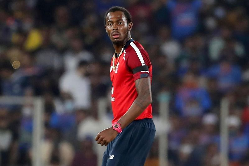 Jofra Archer injured himself in a freak accident involving a fish tank