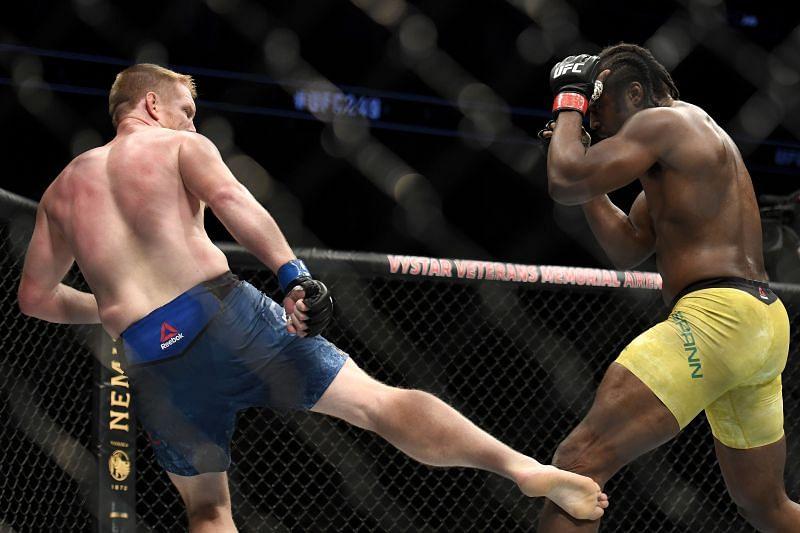 UFC 249 Spann v Alvey