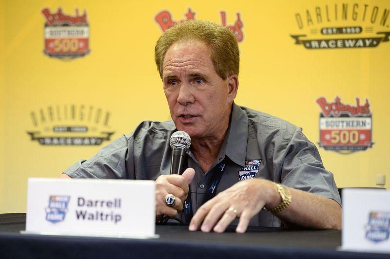 NASCAR Hall of Fame inductee Darryl Waltrip. Photo: Blaine Ohigashi/Getty Images.