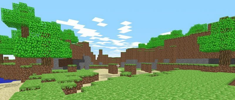 Players who played Minecraft in its early days may know some of the original names of the in-game items (Image via Minecraft)