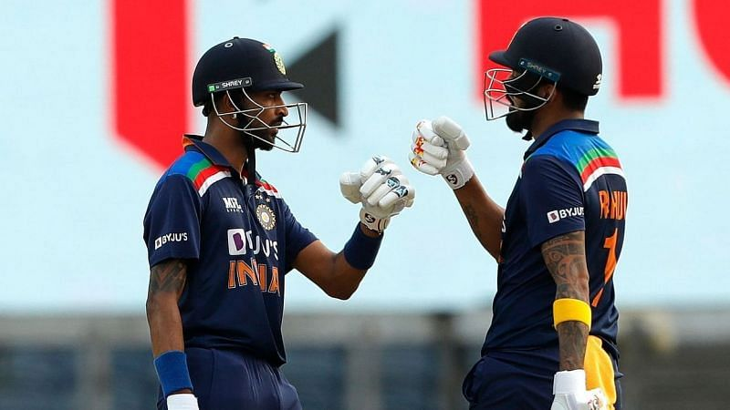 KL Rahul and Krunal Pandya shared a century-stand for the sixth wicket