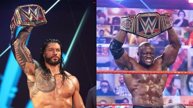 WWE के मौजूदा चैंपियंस और उनका वजन