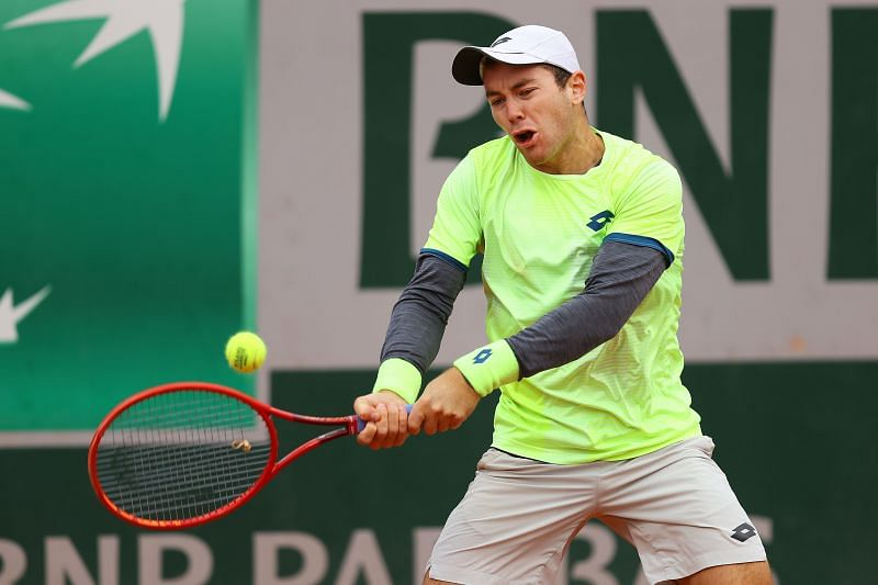 Dominik Koepfer claimed his first win over a top 10 player at the Italian Open last year