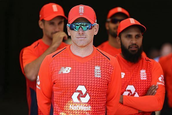 Michael Vaughan claims the balance of power is tilted toward Eoin Morgan in England cricket.