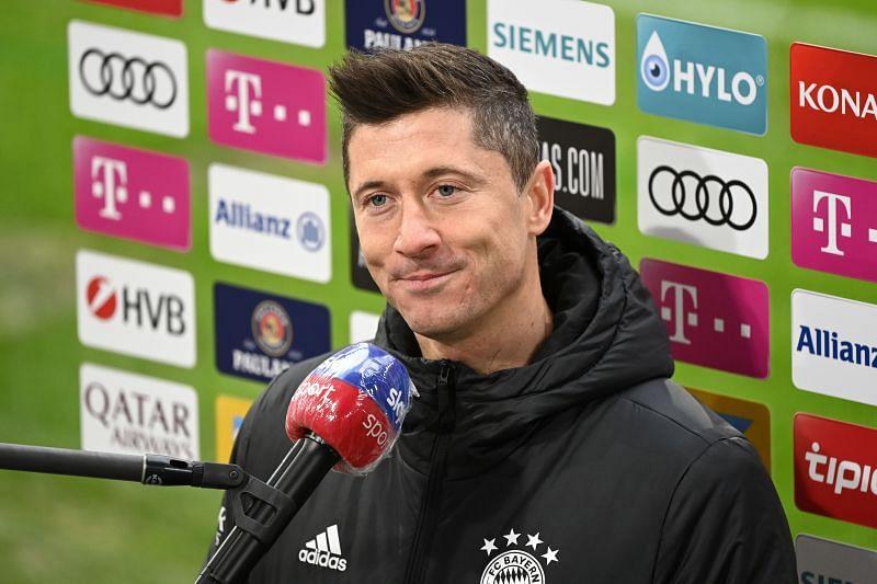 Robert Lewandowski has been in unstoppable form for FC Bayern Munich