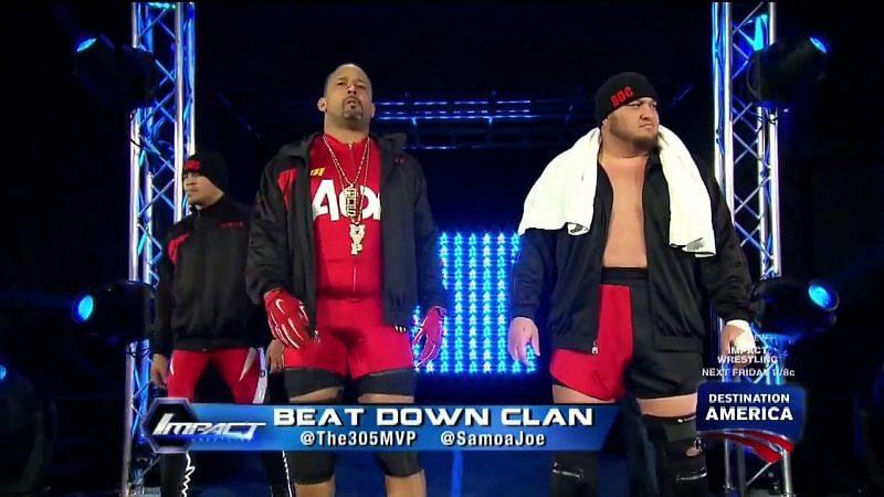 MVP and Samoa Joe in IMPACT Wrestling