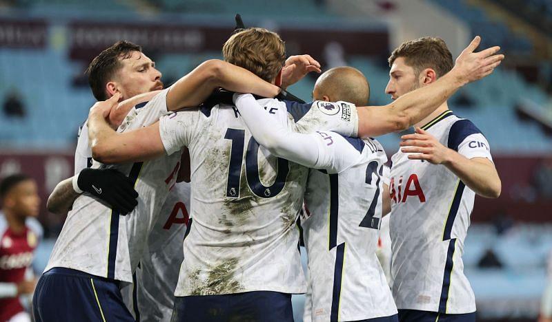 Tottenham Hotspur returned to winning ways by beating Aston Villa 2-0.