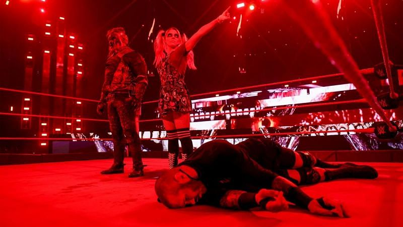 The Fiend took out Randy Orton on WWE RAW