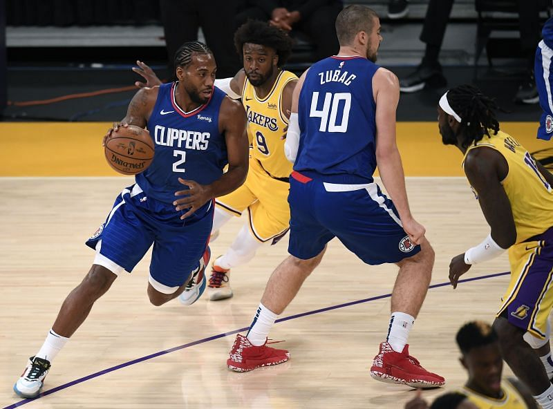 Kawhi Leonard was prolific in the LA Clippers opening night win over the Lakers