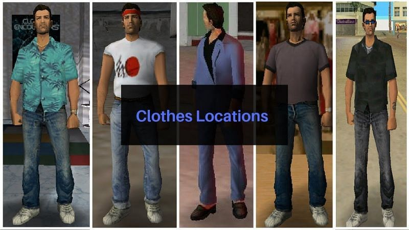 One outfit gets unlocked after 100% completion of GTA Vice City (Image via Gamer Forever, YouTube)