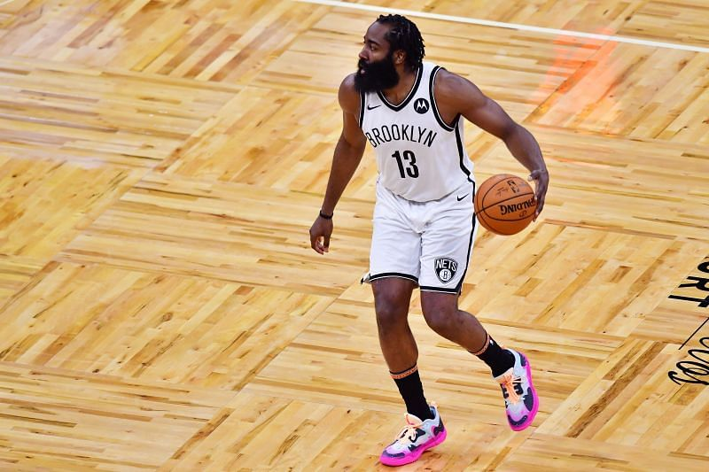 Brooklyn Nets guard James Harden