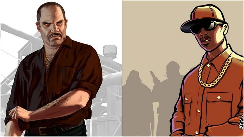 While players can still play GTA San Andreas and the other two games in the trilogy on the PS4/Xbox One, they cannot do the same with GTA 4 (Image via Rockstar Games)
