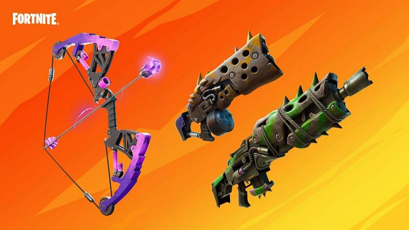 Fortnite Season 6: Mechanical vs Primal Weapons (Image Via Epic Games/Fortnite)