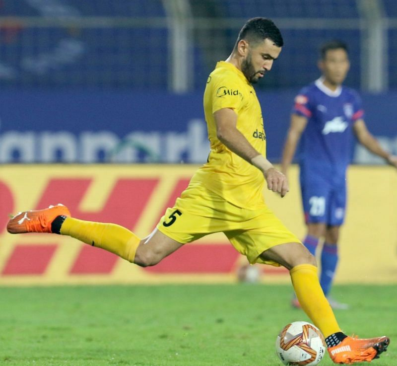 Former FC Goa player Ahmed Jahouh has been one of the standout players for Mumbai City FC this season (Image Courtesy: ISL Media)