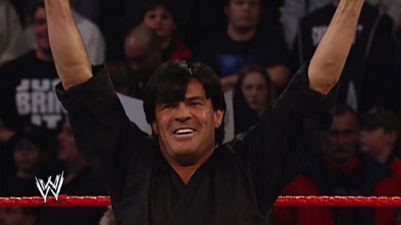 Eric Bischoff has competed in several matches inside of a WWE ring
