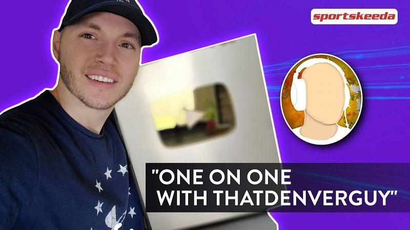 In conversation with the iconic Fortnite YouTuber thatdenverguy - (Image via Sportskeeda)