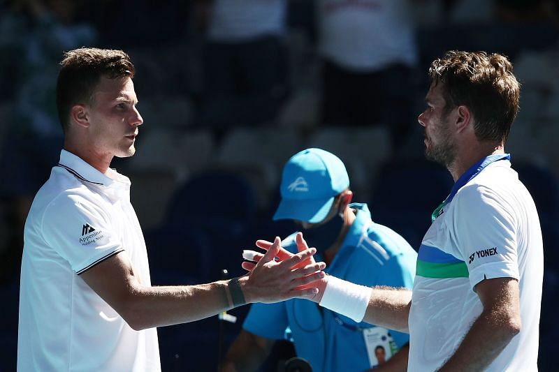 Stan Wawrinka exited the 2021 Australian Open in the first round