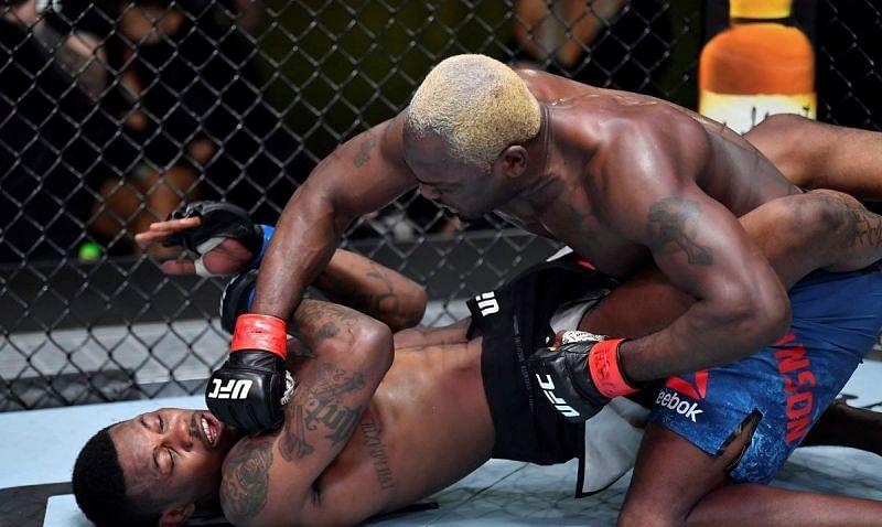 Derek Brunson defeated Kevin Holland at UFC Vegas 22
