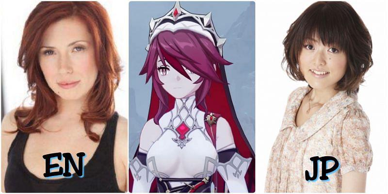 Voice actors of Rosaria in Genshin Impact