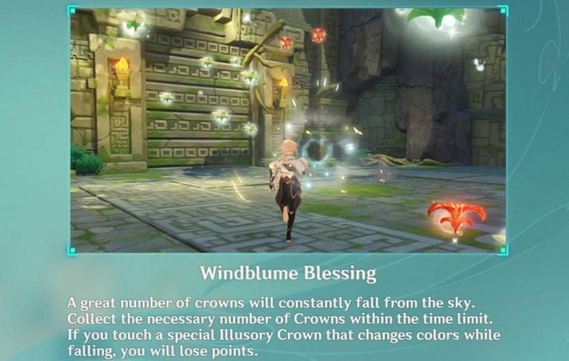 Windblume Blessings in Peculiar Wonderland