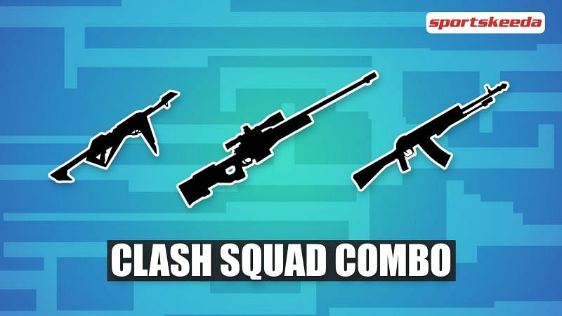 The Clash Squad mode is kind of a minimap (Image via Sportskeeda)