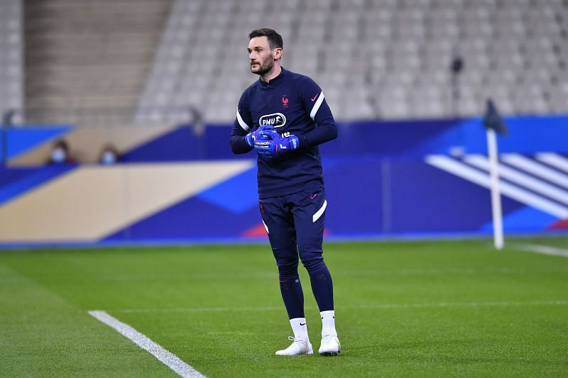 Hugo Lloris was untroubled in the France goal.
