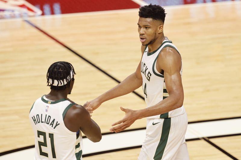 The Milwaukee Bucks are up against the New York Knicks next in the 2020-21 NBA season