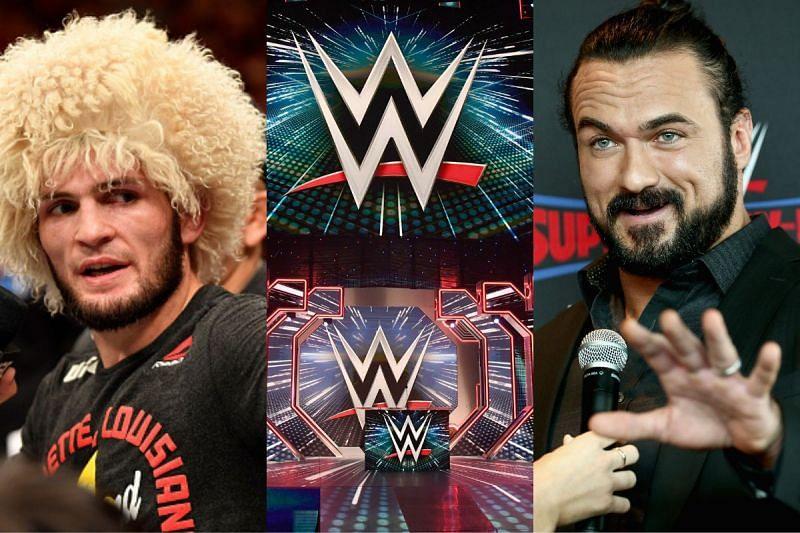 Drew McIntyre thinks Khabib Nurmagomedov could be a huge star in the WWE.